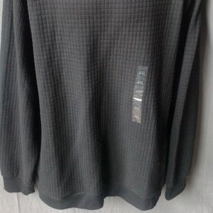 Sean John Sweaters - Sean John Men's Textured Black Sweater 4XL